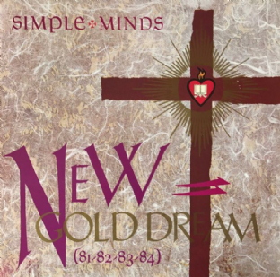 Simple Minds ‎- New Gold Dream (81-82-83-84) (LP) (VG/VG) (1)